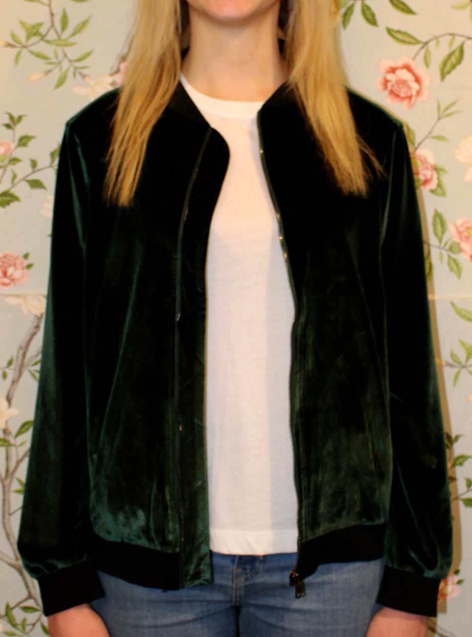 Maverick Bomber Jacket - Green