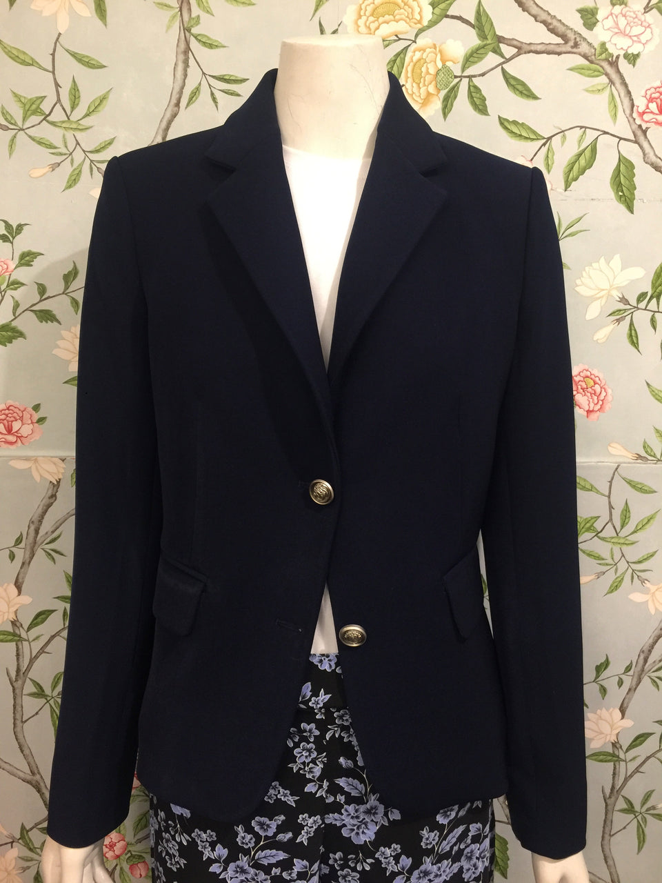 Basic Blazer - Navy