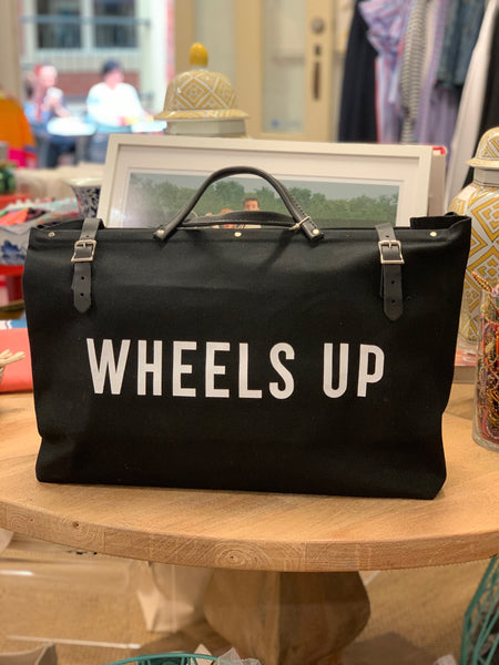 Canvas Utility Bag - WHEELS UP