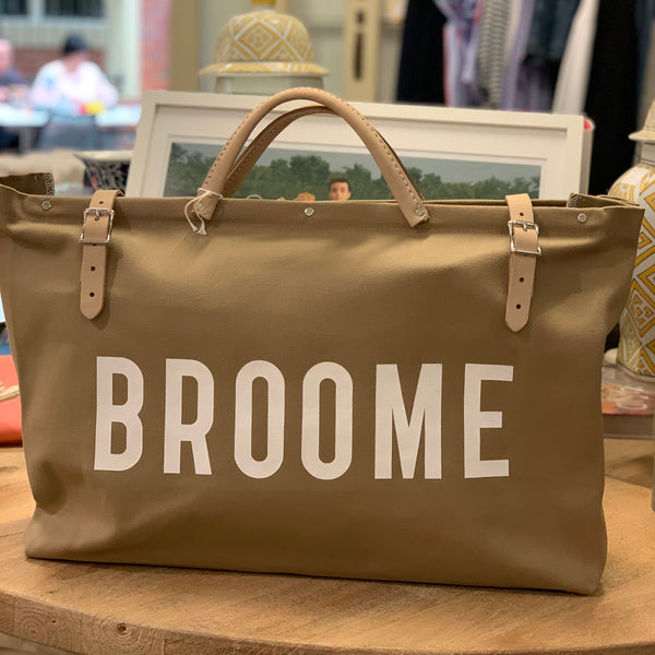 Canvas Utility Bag - BROOME