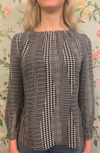 Claudia Shirt - Houndstooth