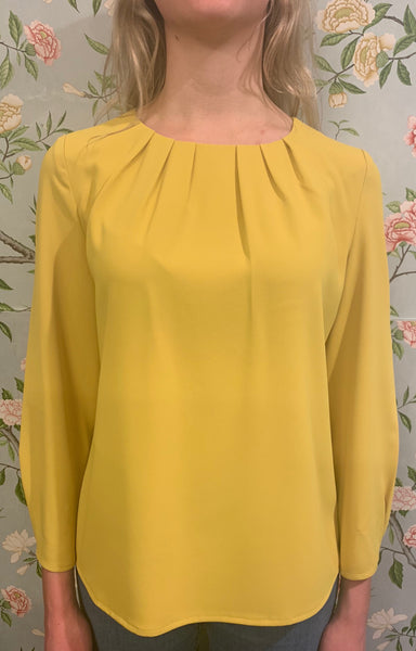 Claudia Blouse - Yellow