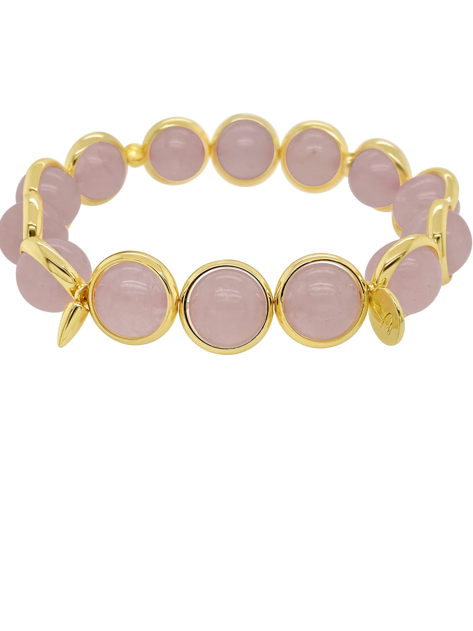 Mystic Rose Quartz Gemstone Bead Bracelet