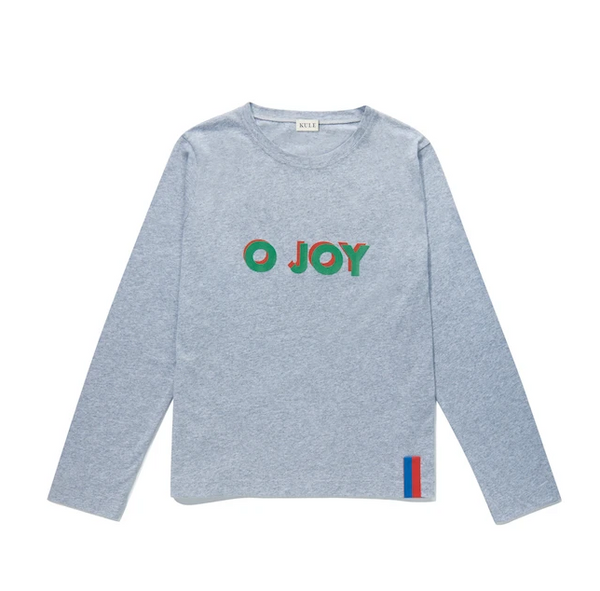 The Modern Long - O JOY - Heather Grey