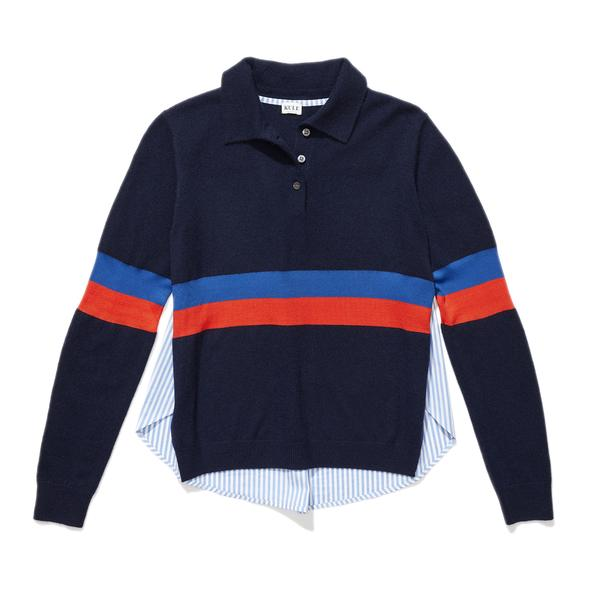 The Rainey - Navy/Blue/Poppy