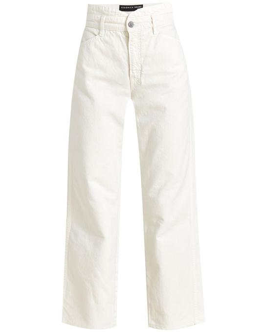 Blake Notch-Waist Straight-Leg Jean