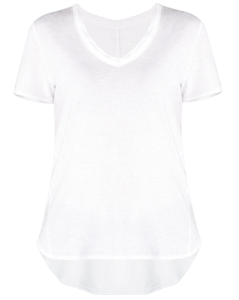Cindy V-Neck - White