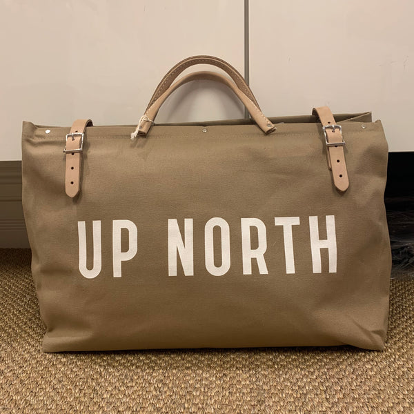 Canvas Utility Bag - UP NORTH