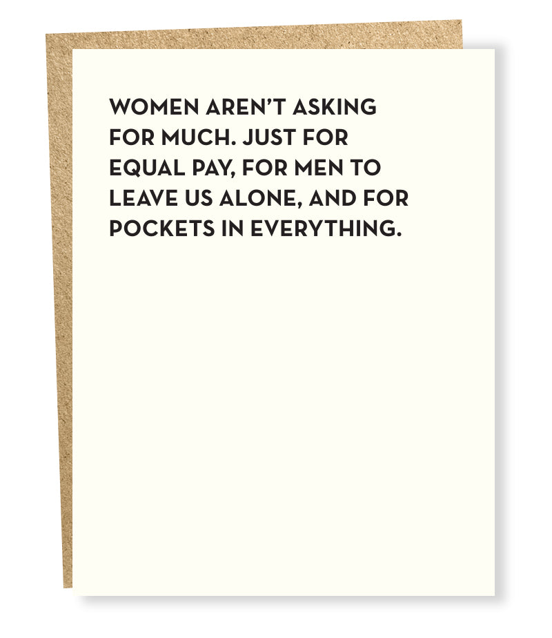Moment of Truth Card - Pockets