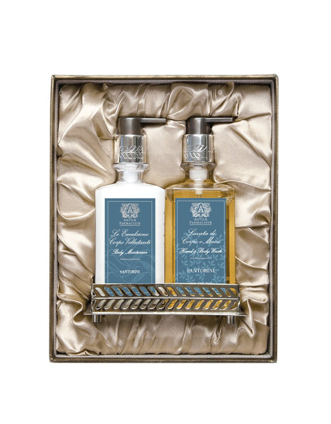 Nickel Bath & Body Gift Set - Santorini