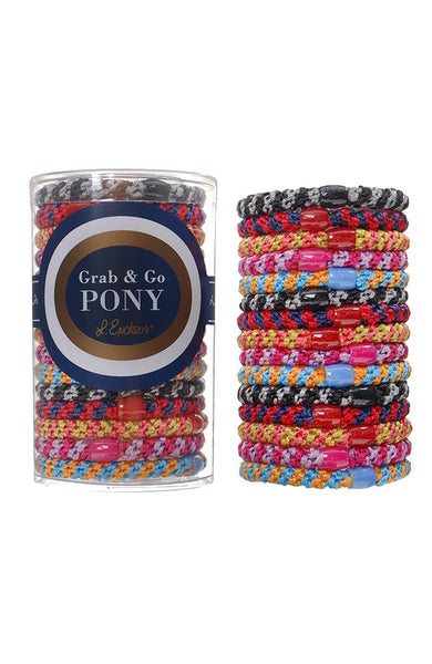 Grab & Go Pony - Stripe Pack