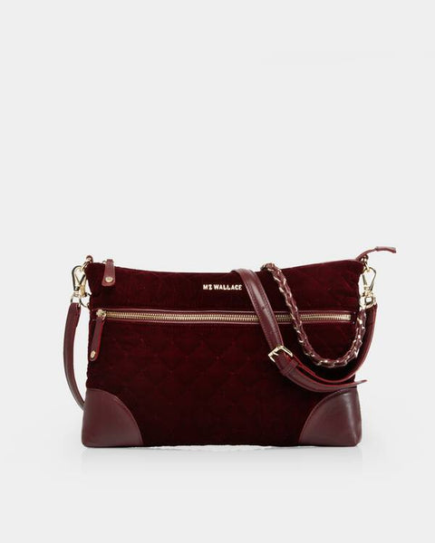 Crosby Crossbody - Port royale velvet, medium