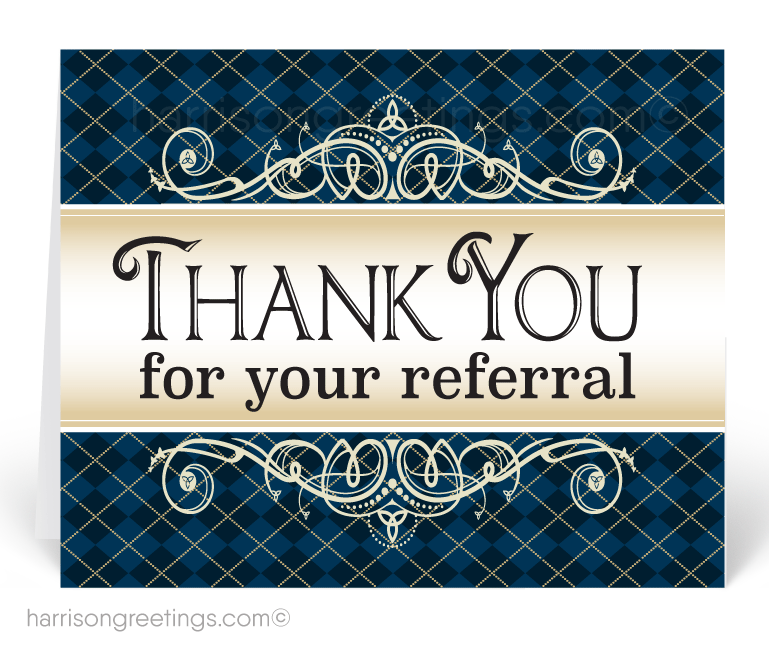 Referral Greeting Cards