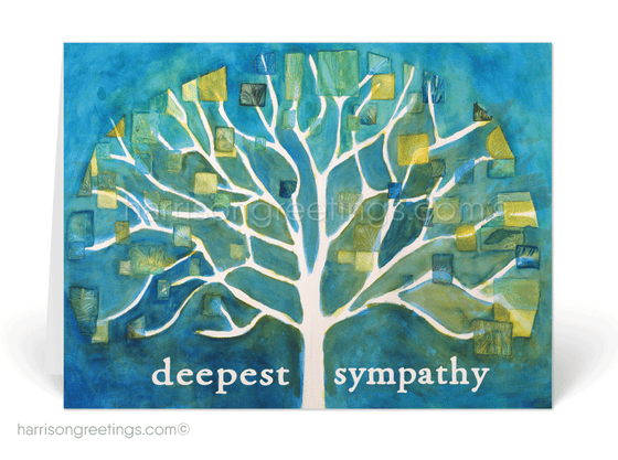Modern Watercolor With Sympathy Cards