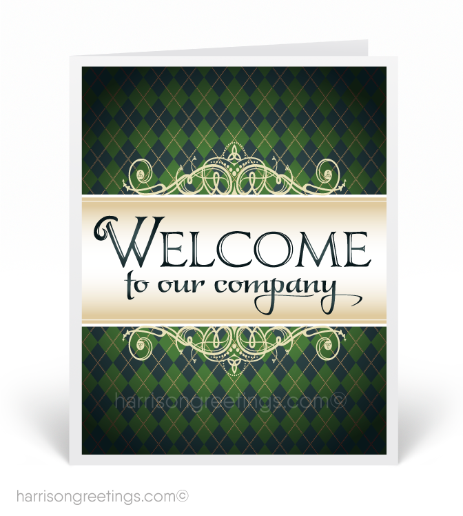 Welcome Aboard Cards for Employees