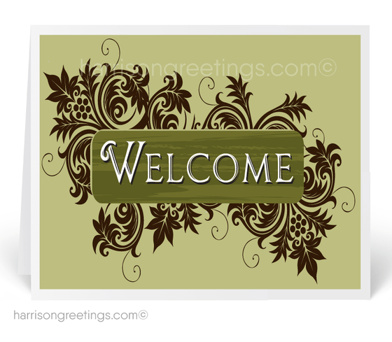 Welcome Aboard Cards for New Customers