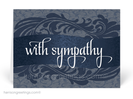 With Sympathy Wholesale Greeting Cards