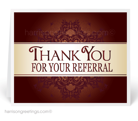 Referral Greeting Cards for Customers