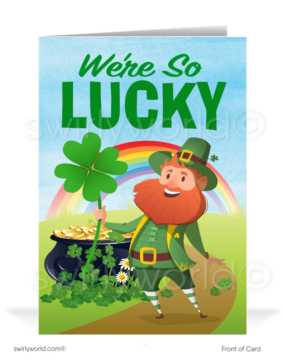 Business Happy St. Patrick's Day Cards for Clients