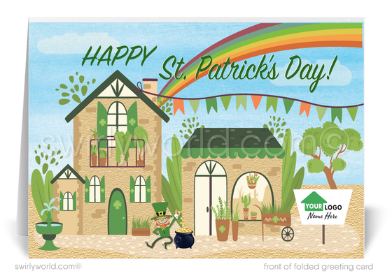 Unique Happy St. Patrick's Day Cards for Realtors® and Agents