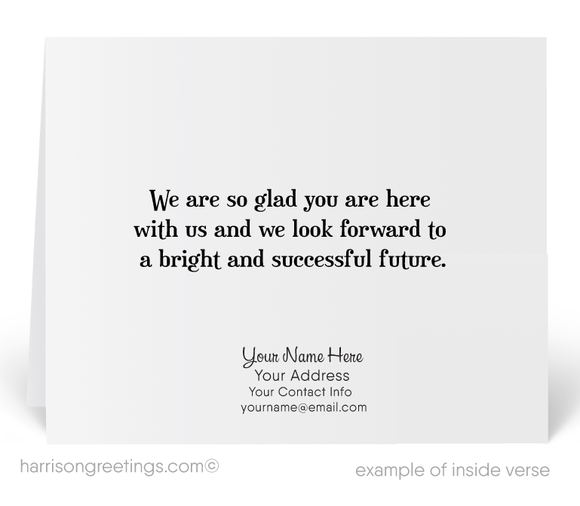 Welcome to Our Company Greeting Cards
