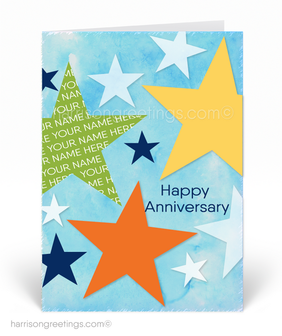 Happy Anniversary Greeting Cards for Clients