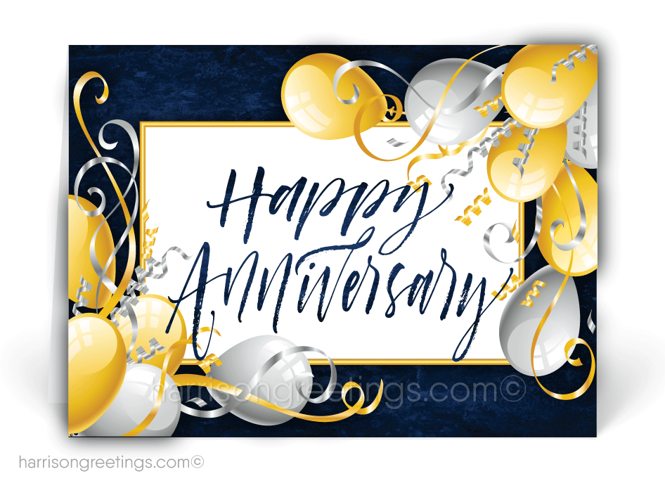 Happy Anniversary Greeting Cards for Customers