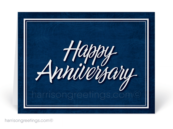 Corporate Anniversary Greeting Cards for Business