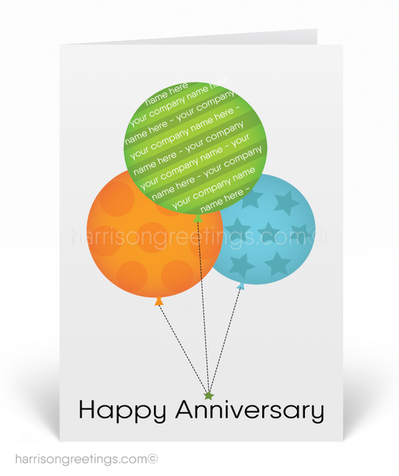 Business Anniversary Greeting Cards