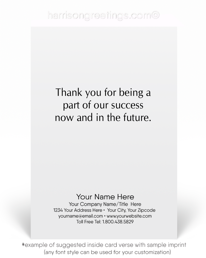 Happy Anniversary Greeting Cards for Employees