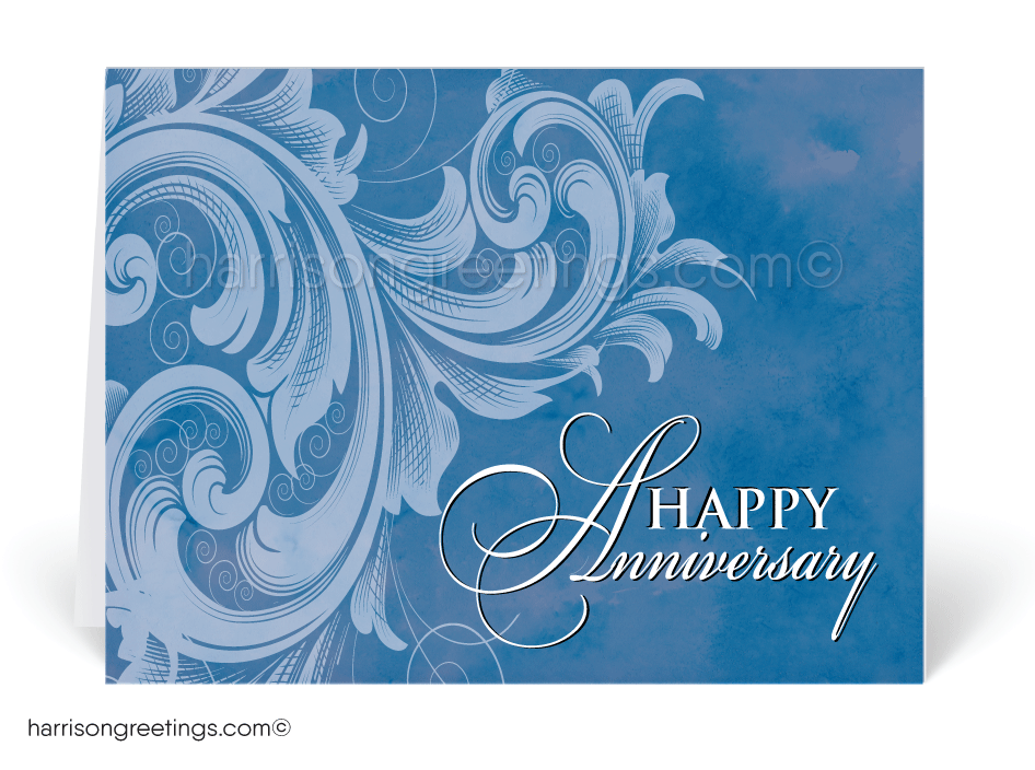 Vintage Happy Anniversary Greeting Cards