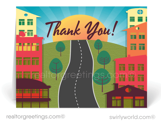 Thank You Note Cards For Realtors