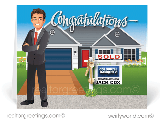 Congratulations On Your New Home Purchase Realtor Cards