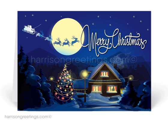 Unique Realtor Holiday Christmas Cards