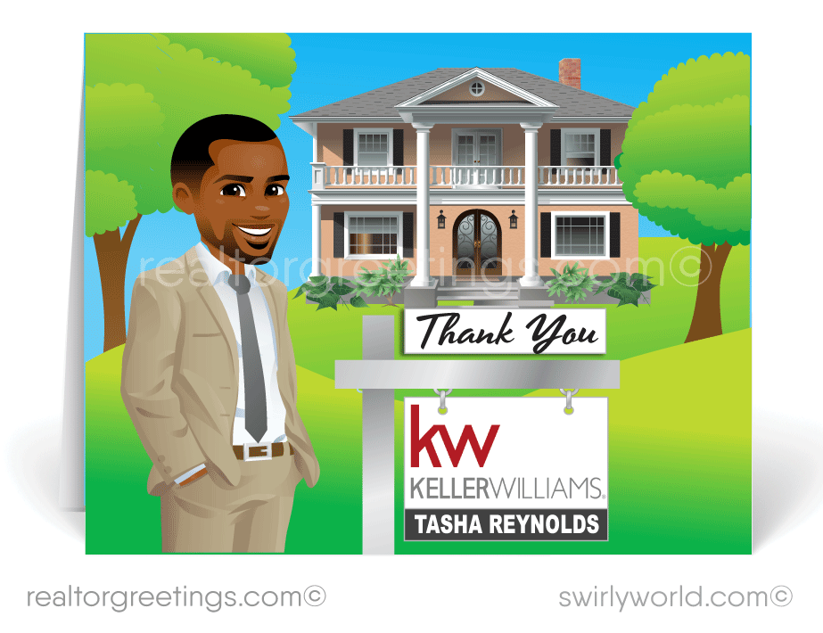 Thank You Cards For Realtors to Clients