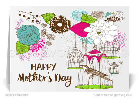 Business Mother's Day cards for customers and clients