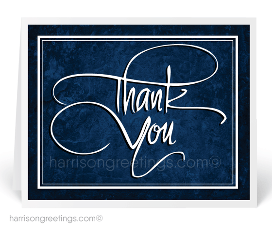 Corporate Customer Thank You Cards