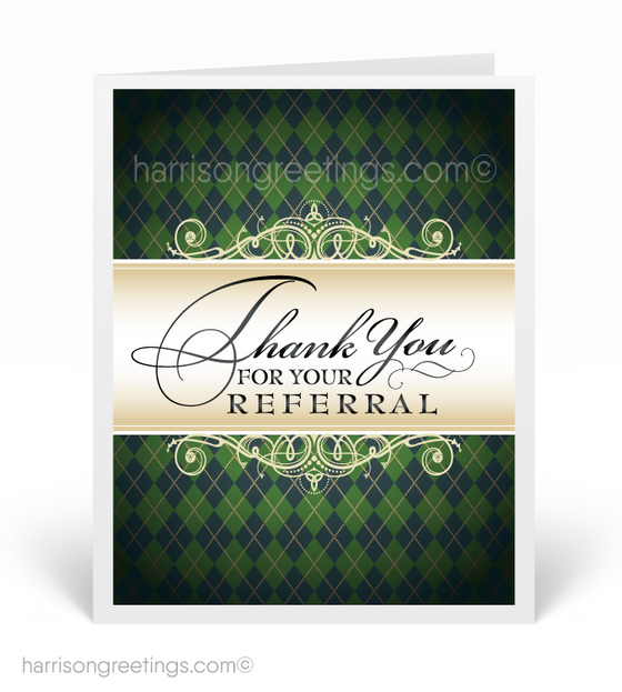 Referral Greeting Cards for Clients