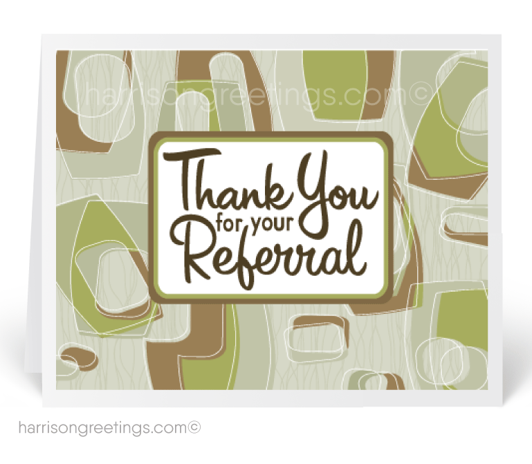 Retro Referral Cards for Customers