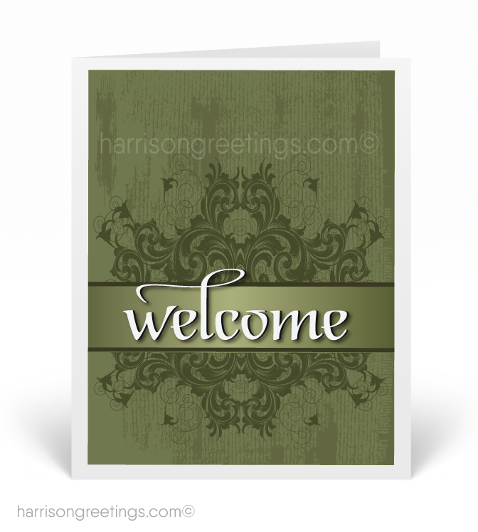 Corporate welcome to our company cards harrison greeting cards corporate welcome to our company cards m4hsunfo