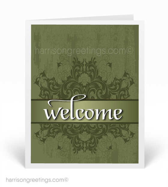 Corporate Welcome to Our Company Cards