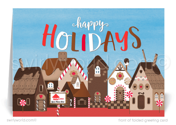 realtor merry christmas cards for clients