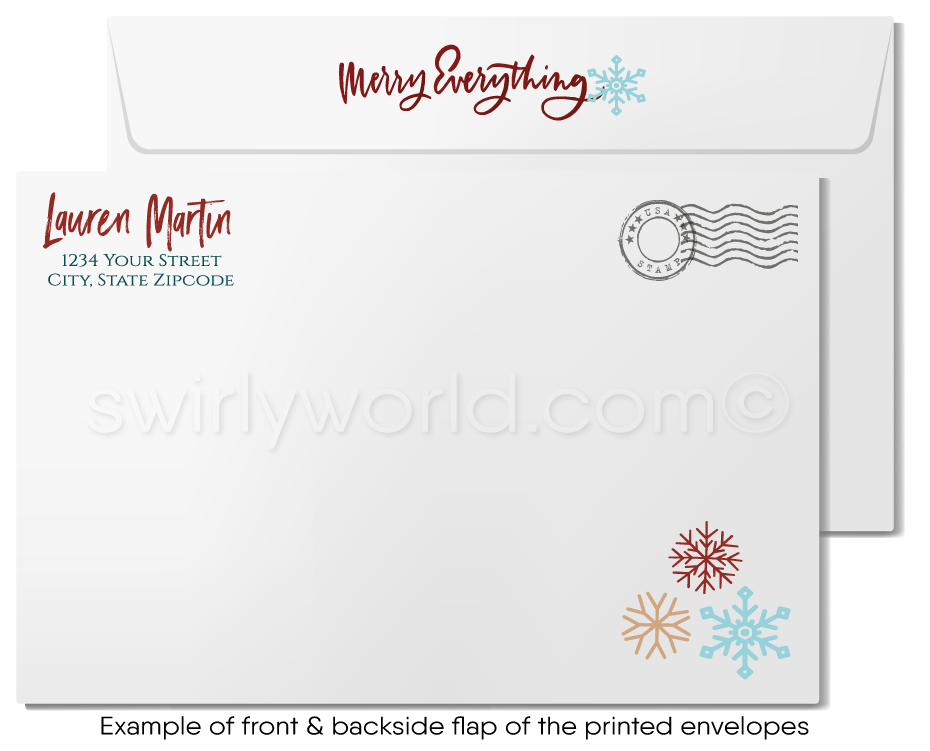 Commercial Real Estate Christmas Holiday Greeting Cards for Realtors®