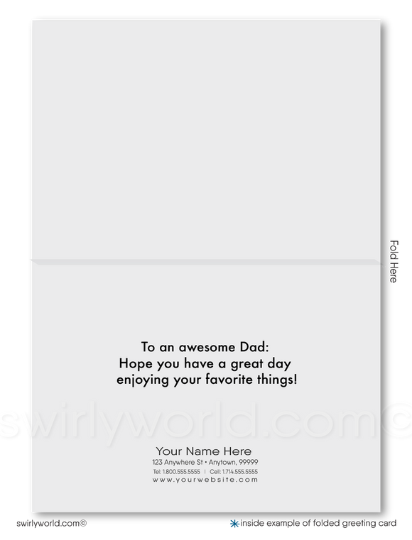 Business Happy Father's Day Cards for Customers