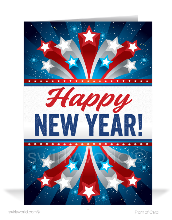 Trump America MAGA Happy New Year Cards