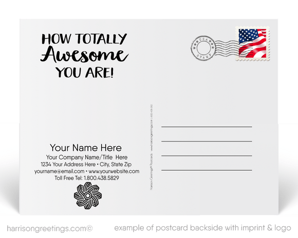 Let's TACO ABOUT HOW AWESOME YOU ARE Postcards