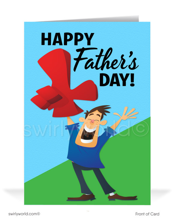 Funny Business Happy Father's Day Cards for Clients