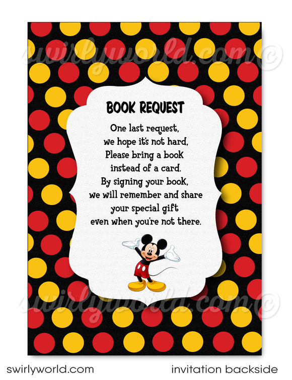Mickey Mouse 1st birthday party ideas. Mickey Mouse birthday invitations for boys. Mickey Mouse birthday party favors. Cute Mickey Mouse first birthday party ideas. Boy's First birthday party invites. 1st Birthday party invitations for baby boys. Baby Mickey Mouse theme.
