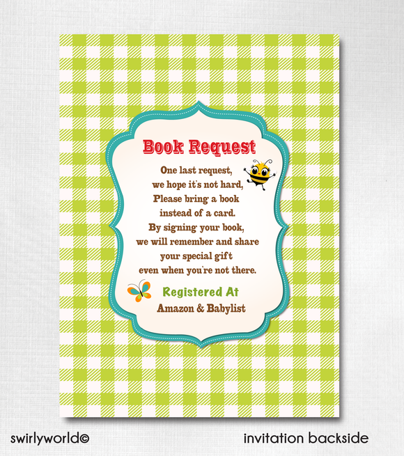 Darling Barnyard Baby Farm Animals Gender Neutral Couples Baby Shower Invitation and Thank You Card Digital Download Bundle