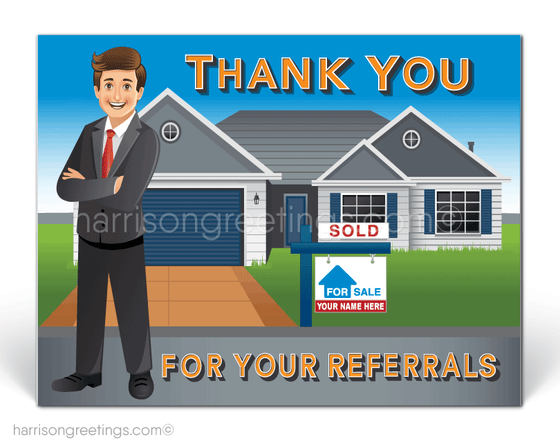 Thank You Postcards for Realtors